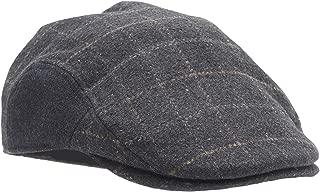 Dockers Men's Ivy Newsboy Hat, Ash, Small/Medium