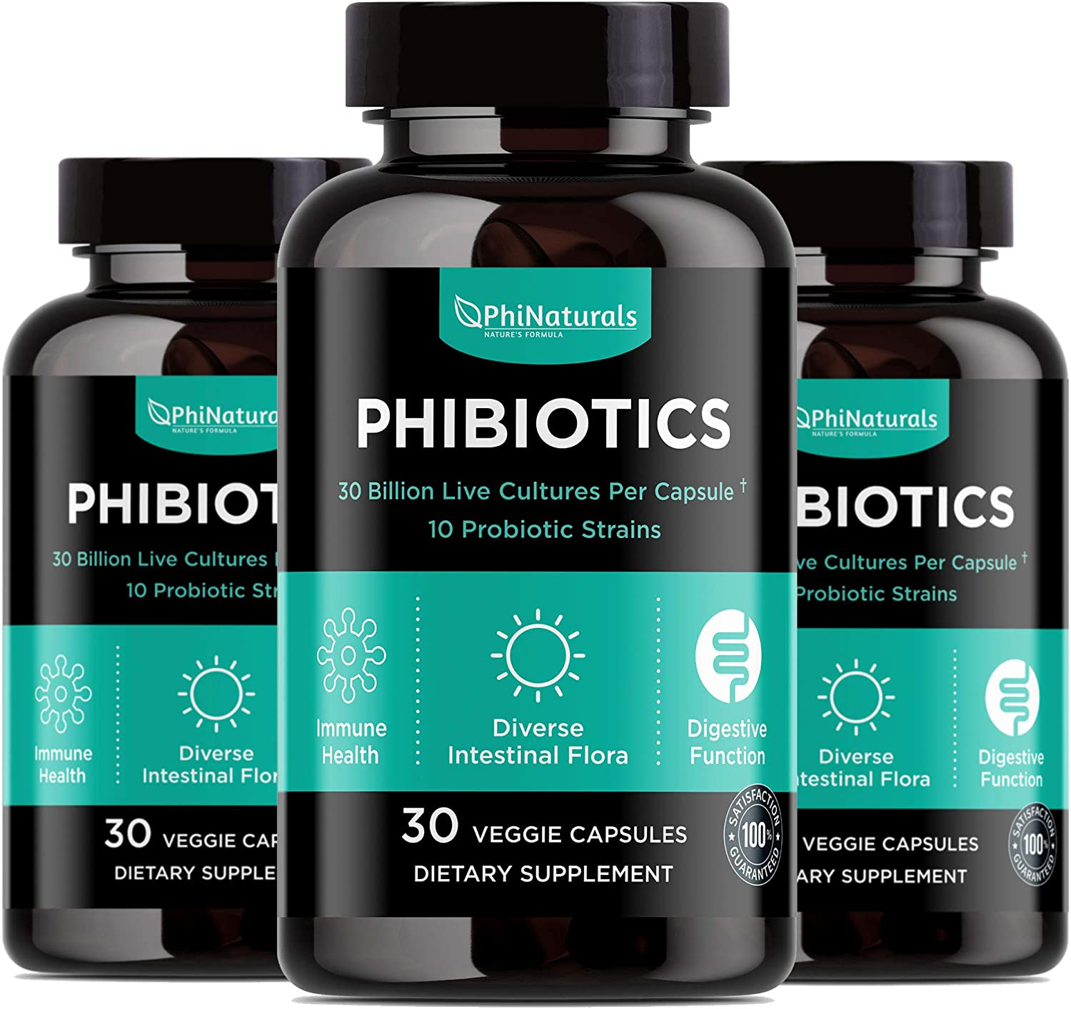 Outlet sale feature Probiotics High Potency 10 Strains New product!! – 30 3 Pack Billion CFU of
