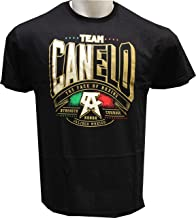 Authentic Canelo Alvarez Power Men's Black T-Shirt