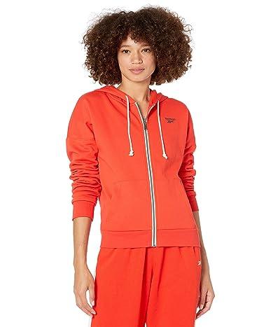 Reebok Training Essentials Fleece Full Zip (Instinct Red) Women
