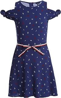 Tommy Hilfiger Girls' Cold Shoulder Dress