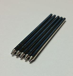 Black, Medium Tip Generic Refills for Livescribe Pulse, Echo or Sky. Smooth-writing, Premium German Ink.