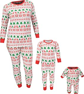 Christmas Family Pajama Daddy Mommy Pet and Me