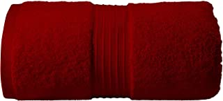 Jumbo Bath Sheet |Bath Sheet Towel for Home, Hotel & Spa – (90 x 180 cm, 1 Pack, 600 GSM in Burgundy Color) - Quick Dry, S...