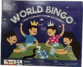 CocoMoco Kids - World Bingo Geography Educational Game