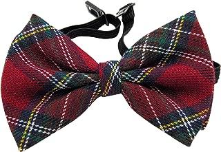 scottish plaid bow ties