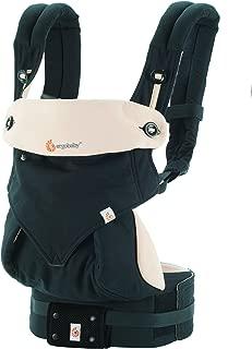 エルゴベビー(Ergobaby) 抱っこひも 前向き おんぶ 装着簡単 360/ブラックキャメル スリーシックスティ 【日本正規品保証付】 CREGBC360BLKCAM1NL