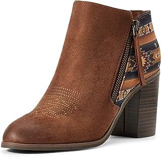 حذاء نسائي من الجلد السويدي بلون بني فاتح من ARIAT