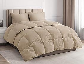 CGK Unlimited Comforter Duvet Insert – Warm, Lightweight & Breathable King Size Down Alternative Set – Hotel Quality Bedding - Fibers Ideal for Allergies - Lightweight Duvet