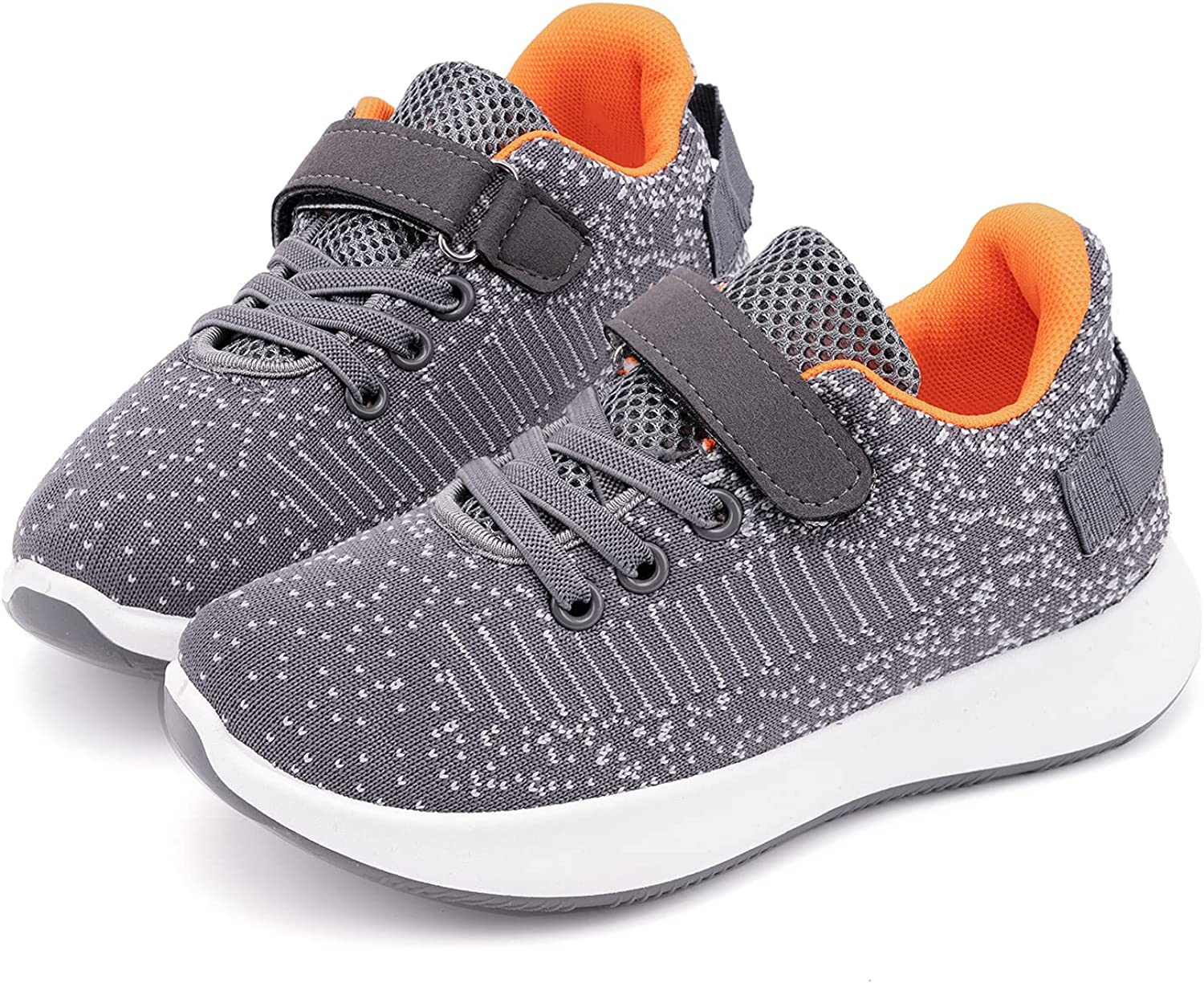 Toandon Toddler Kids Knit Max 56% OFF Breathable for Special Campaign Athletic Sport Sneakers