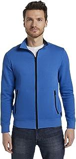 TOM TAILOR Men's Zipper Sweatjacket Sweatshirt