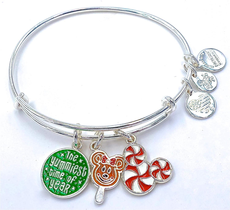 Disney Parks Alex ANI Christmas Holiday Bangle Treats Fashionable Bracelet Mail order