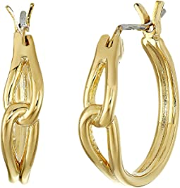 Kate Spade New York - Get Connected Small Hoops Earrings