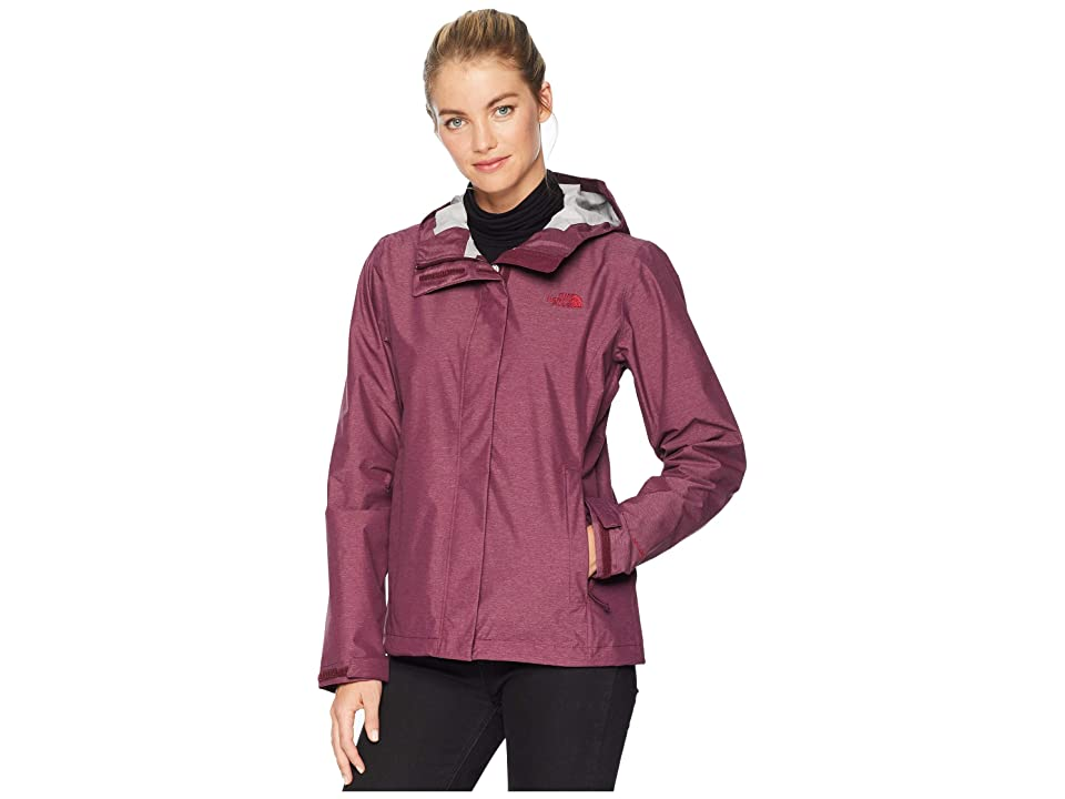 The North Face Venture 2 Jacket (Fig Heather) Women