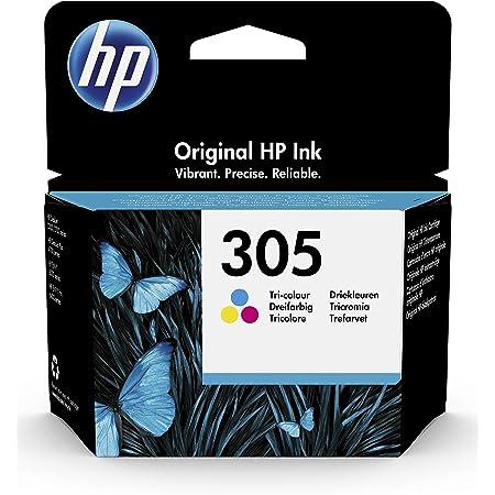 HP 305 Cartouche d'Encre Trois Couleurs Authentique (3YM60AE)