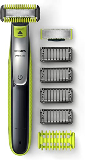 Philips OneBlade Face & Body Kit Hybrid Electric Trimmer and Shaver, QP2630/21