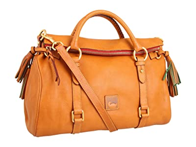 Dooney & Bourke Florentine Vachetta Satchel (Natural) Handbags