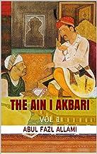 THE AIN I AKBARI: VOL 1 (English Edition)