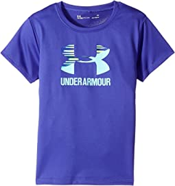 Under Armour Kids - Split Logo Short Sleeve (Little Kids)
