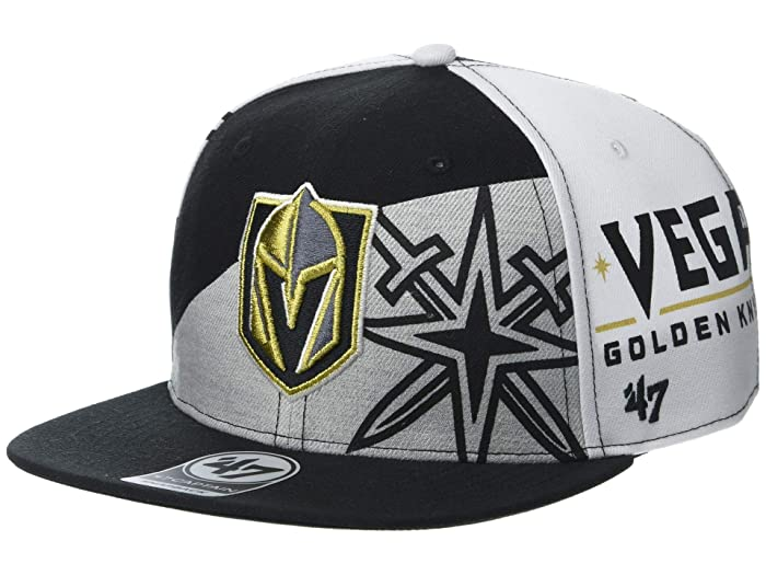 Vegas Golden Knights Patchwork 47 Captain Black