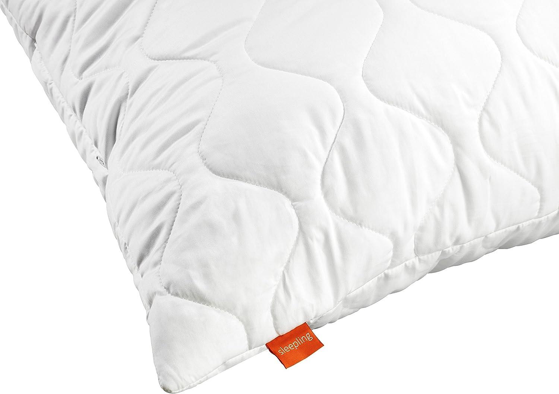 sleepling 196529 Almohada de Microfibra 50 x 60 cm Blanco