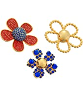 Marc Jacobs - Daisy Pave Brooch Set