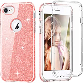 جراب للهاتف بالكامل من EnjoyCase لهاتف iPhone 6S Plus/6 Plus 5.5 بوصات، جراب خلفي صلب واقٍ من الصدمات مع واقي شاشة مدمج