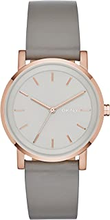 Dkny Casual Watch Analog Display Quartz For Women Ny2341, Grey Band, Analog Display