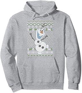 Disney Frozen Olaf Sven Ugly Christmas Sweater Sweat à Capuche