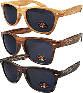 Sunglasses for Men, Women & Kids by Ray Solée- 3 Pack of Tinted Lenses with UVA & UVB Protection