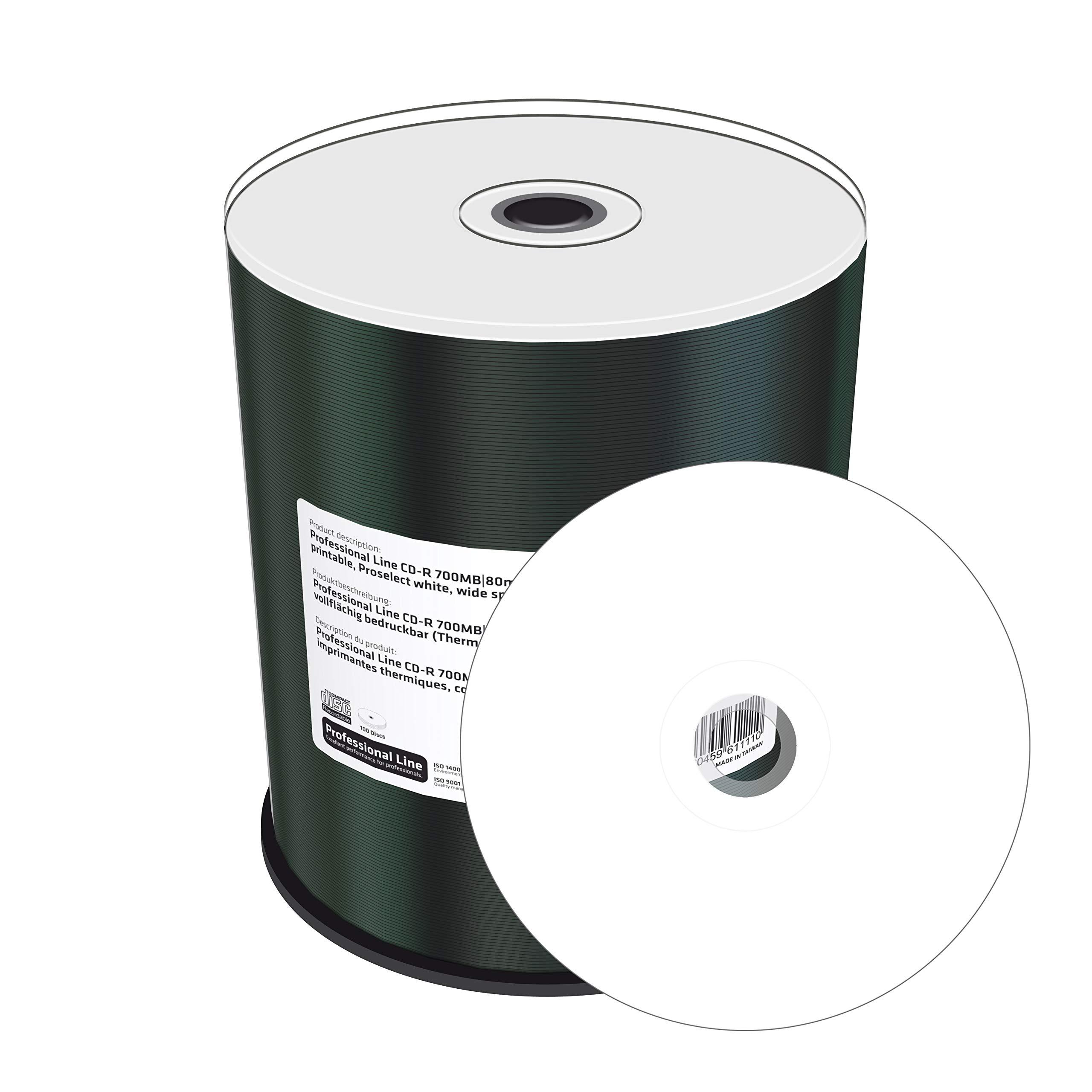 MediaRange 700MB, CD-R, 100 Pack 100 Pieza(s) - CD-RW vírgenes (CD ...