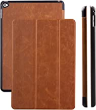 iCues | Compatible with Apple iPad Mini 4 Case | Buffalo Brown | Ancho Cover with Stand | Other Leather - and Colour Variations Available | Protective Flip Wallet with Gift Box 10532