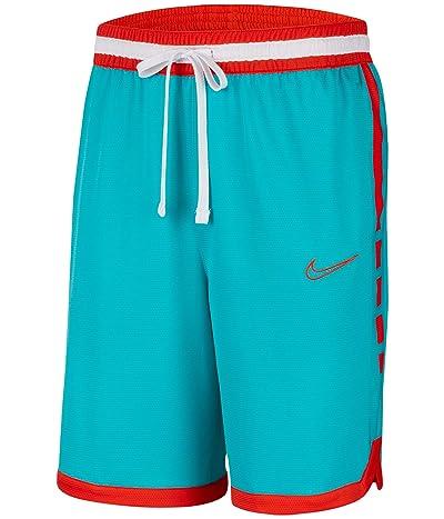 Nike Dry Elite Shorts Stripe (Oracle Aqua/Team Orange/Team Orange) Men