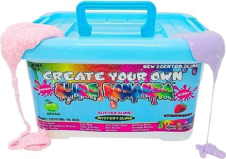 Slime Bonanza Slime kit for Girls and Boys 36pcs DIY Slime Making kit, just add Water!