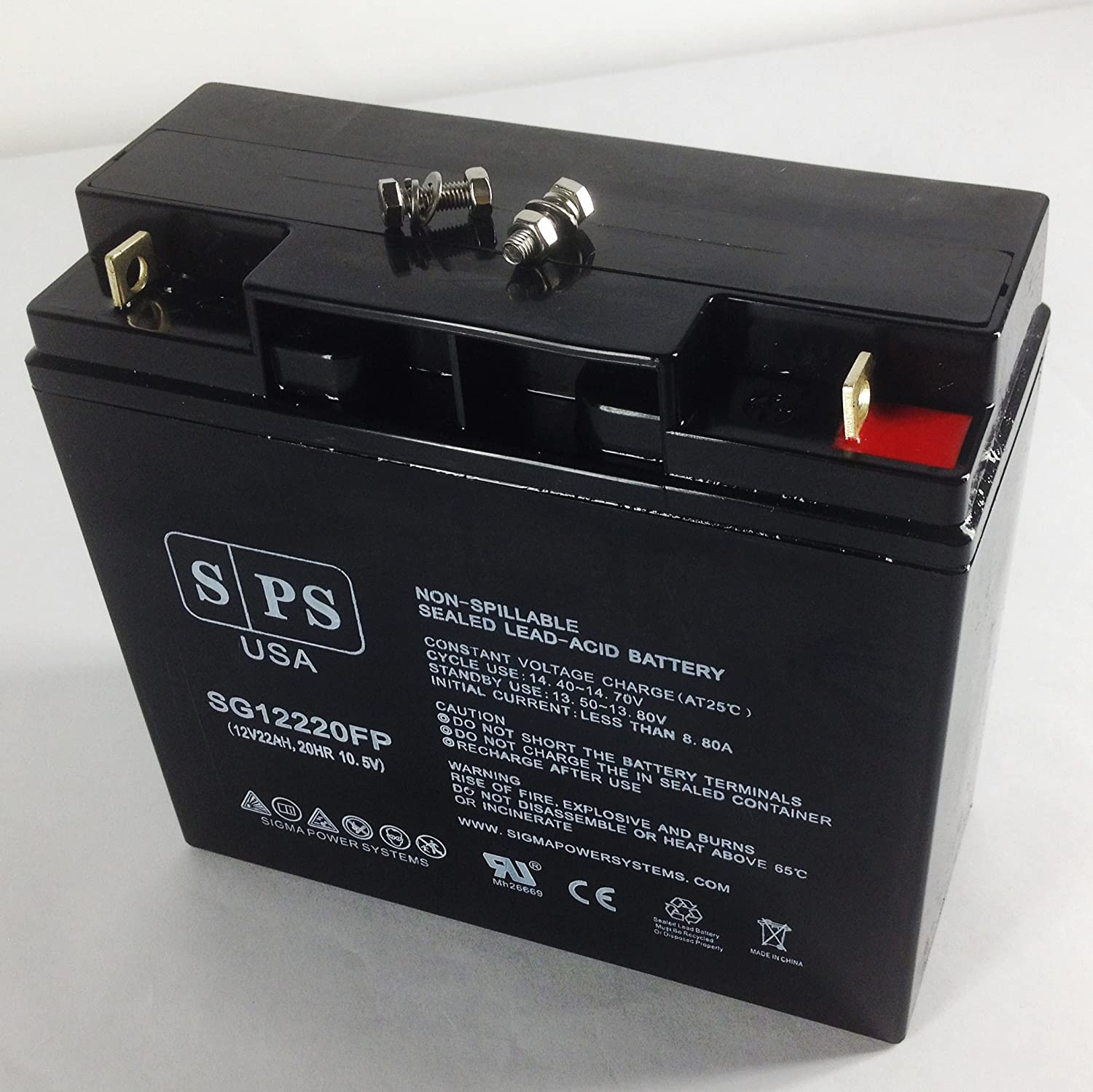 Tampa Mall SPS Brand OFFicial mail order 12V 22Ah Wheelchair Kine for Ortho Battery Replacement