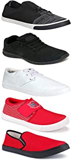 WORLD WEAR FOOTWEAR Sports Running Shoes/Casual/Sneakers/Loafers Shoes for MenMulticolors (Combo-(5)-1219-1221-1140-749-1015)