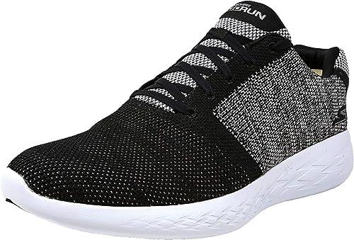 Skechers Hommes's Go Run 600 - Arise noir blanc Ankle-High FonctionneHommest chaussures 13M