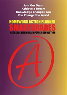 SMARTGRADES Homework Action Planner (100 Pages): 5 STAR REVIEWS: Student Tested! Teacher Approved! Parent Favorite! In 24 Hours, Earn A Grade and Free Gift!