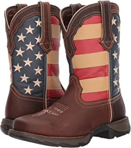 Durango - Lady Rebel Flag Steel Toe
