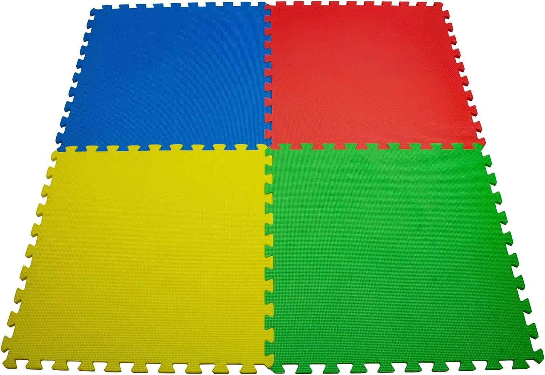 TM Tapis en Fourrure Puzzle Carr/é Tapis de Jeu Anti-d/érapant Antichoc en Mousse Sol Chaud en Hiver pour B/éb/é EVA D/écoration Maison Chambre Salon Tatami 30x30cm LQZ Vert