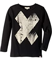 Soft Long Sleeve with Distressed X Print (Toddler/Little Kids/Big Kids)
