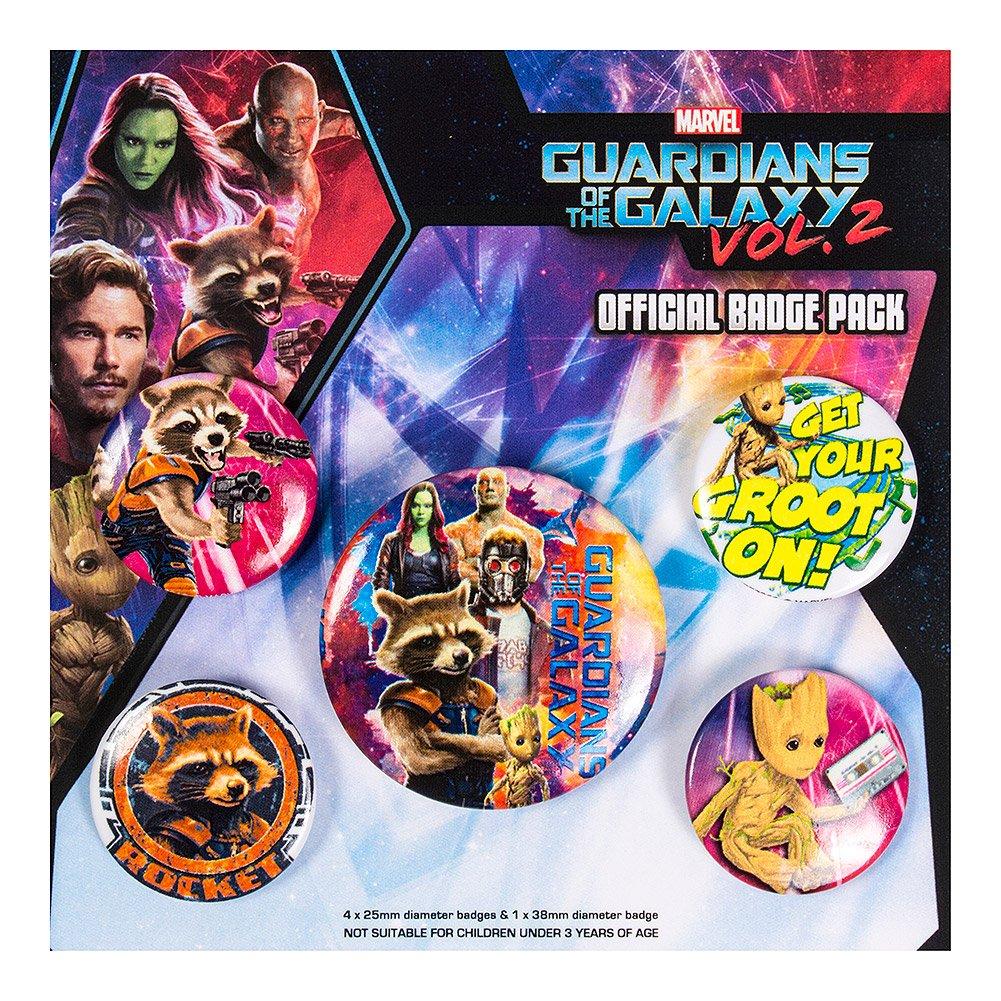 Pyramid International Guardianes de la Galaxia Vol. 2 Insignias ...