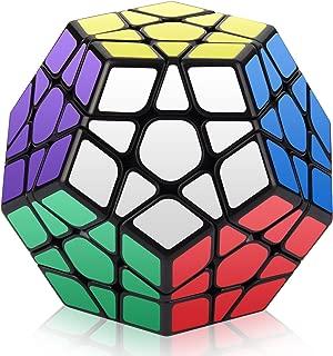 Roxenda Megaminx Cube, 3x3x3 Pentagonal Speed Cube Dodecahedron Magic Cube Puzzle Toy