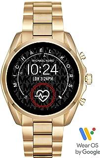 Michael Kors Smartwatch Pantalla táctil para Mujer de Connected con Correa en Acero Inoxidable
