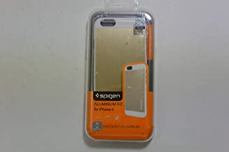 Spigen Aluminum Fit iPhone 6 Case with Premium Brushed Metal Anodized Aluminum for iPhone 6 - Champagne Gold