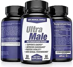 Best Male Enhancing Pills Increase Size, Drive, Stamina & Endurance - #1 Testosterone Booster for Men 45+ L Arginine, Tongkat, Maca, Ginseng Supplement - Boost Energy, Muscle & Performance Enhancement