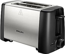 Philips HD4825/90 -Tostador 800 W, Doble Ranura, Color Negro