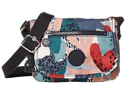 Kipling Sabian Crossbody Mini Bag (Urban Jungle Red) Handbags