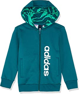 adidas Boys' Lin Full Zip Hood