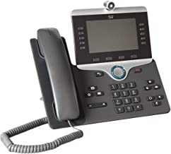 $148 » Cisco CP-8865-K9 Wi-Fi IP Video Phone (Power Supply Not Included) (Renewed)